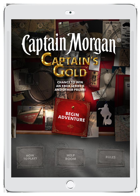 Captain Morgan Captain's Gold