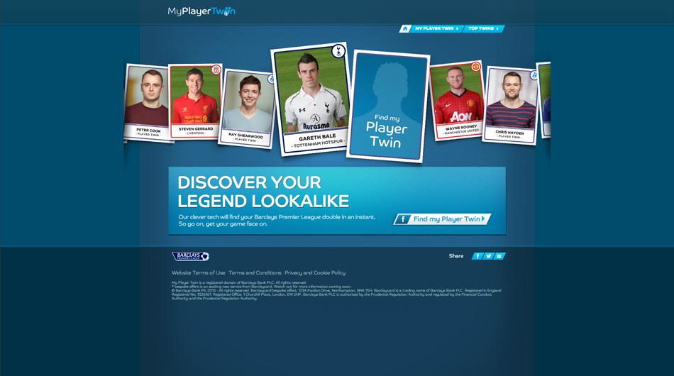 UNIT9 - Barclays Premier League: My Player Twin