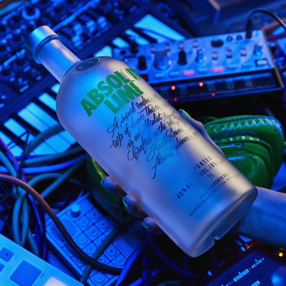 Absolut Lime Just Add