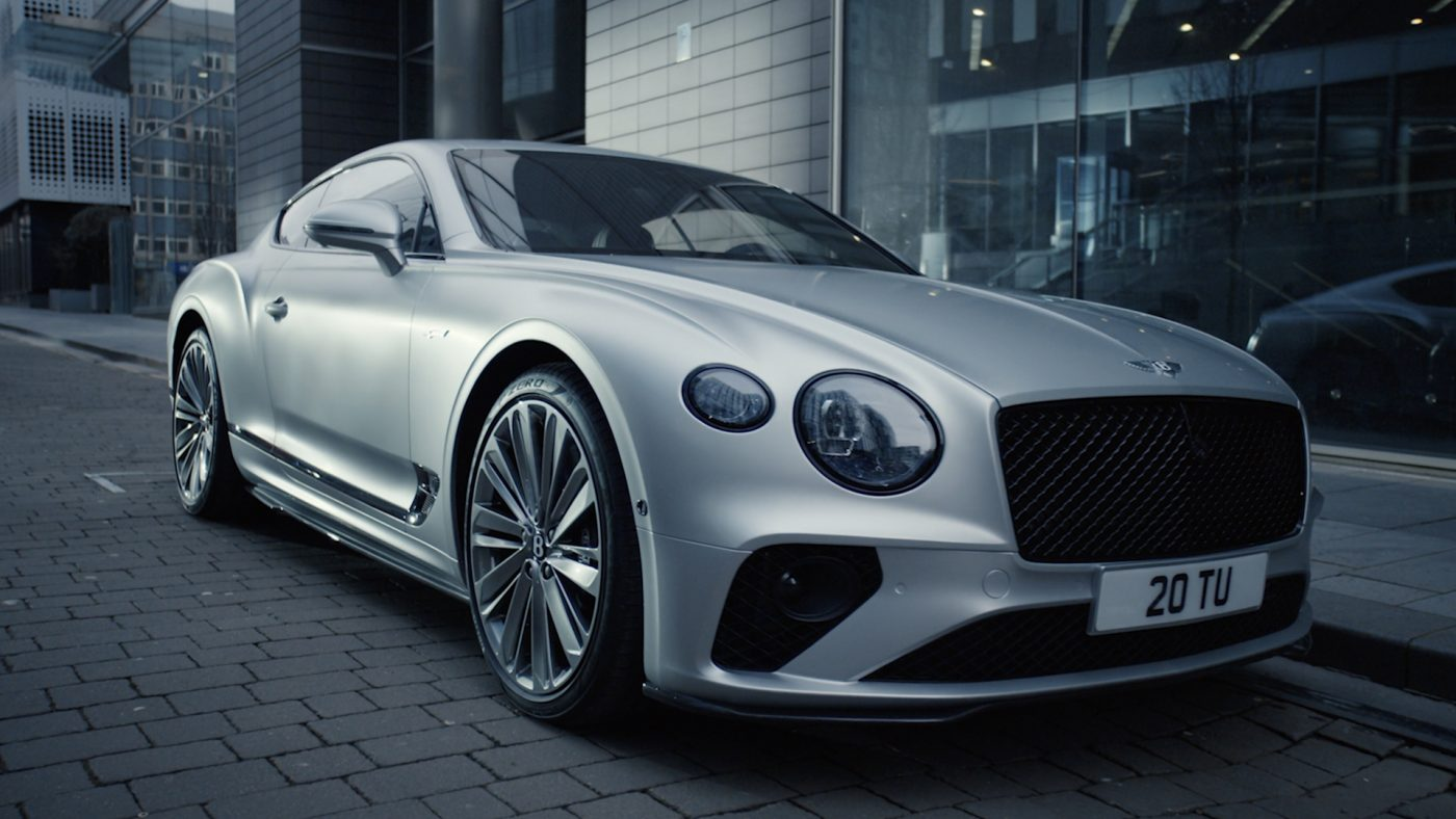 Bentley Continental GT Speed: Switch Into Thrill Mode