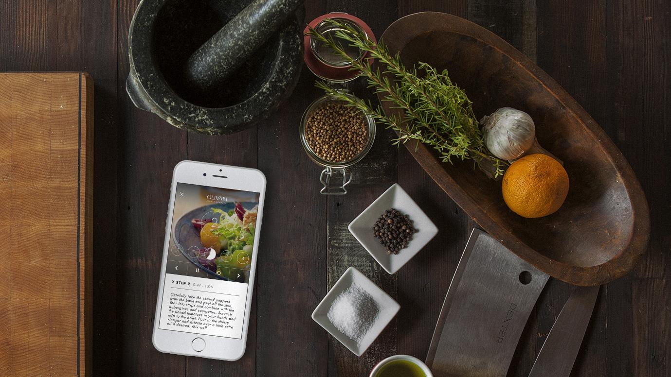 Olivari: Audio Cookbook