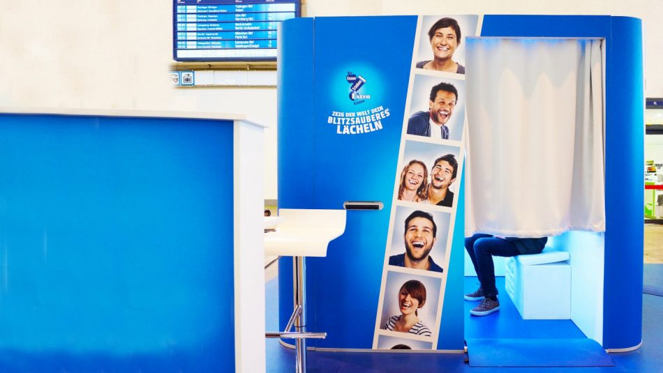 Wrigley's Smile Booth