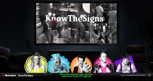 UNIT9 - Heineken: Know The Signs