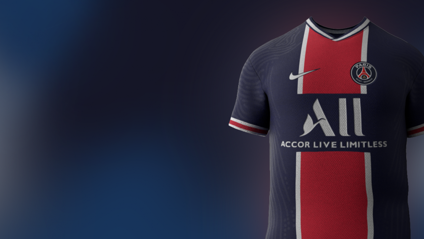Nike x PSG Shirt AR Viewer