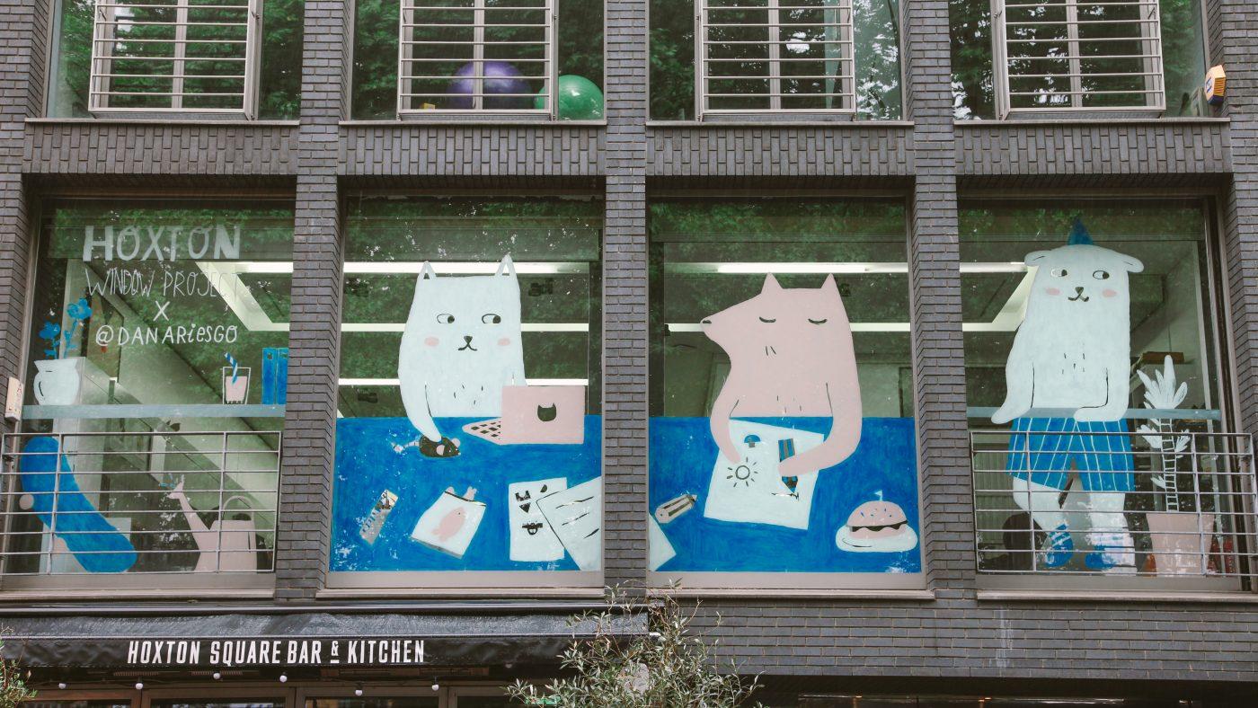 Hoxton Window Project: Dana Riesgo