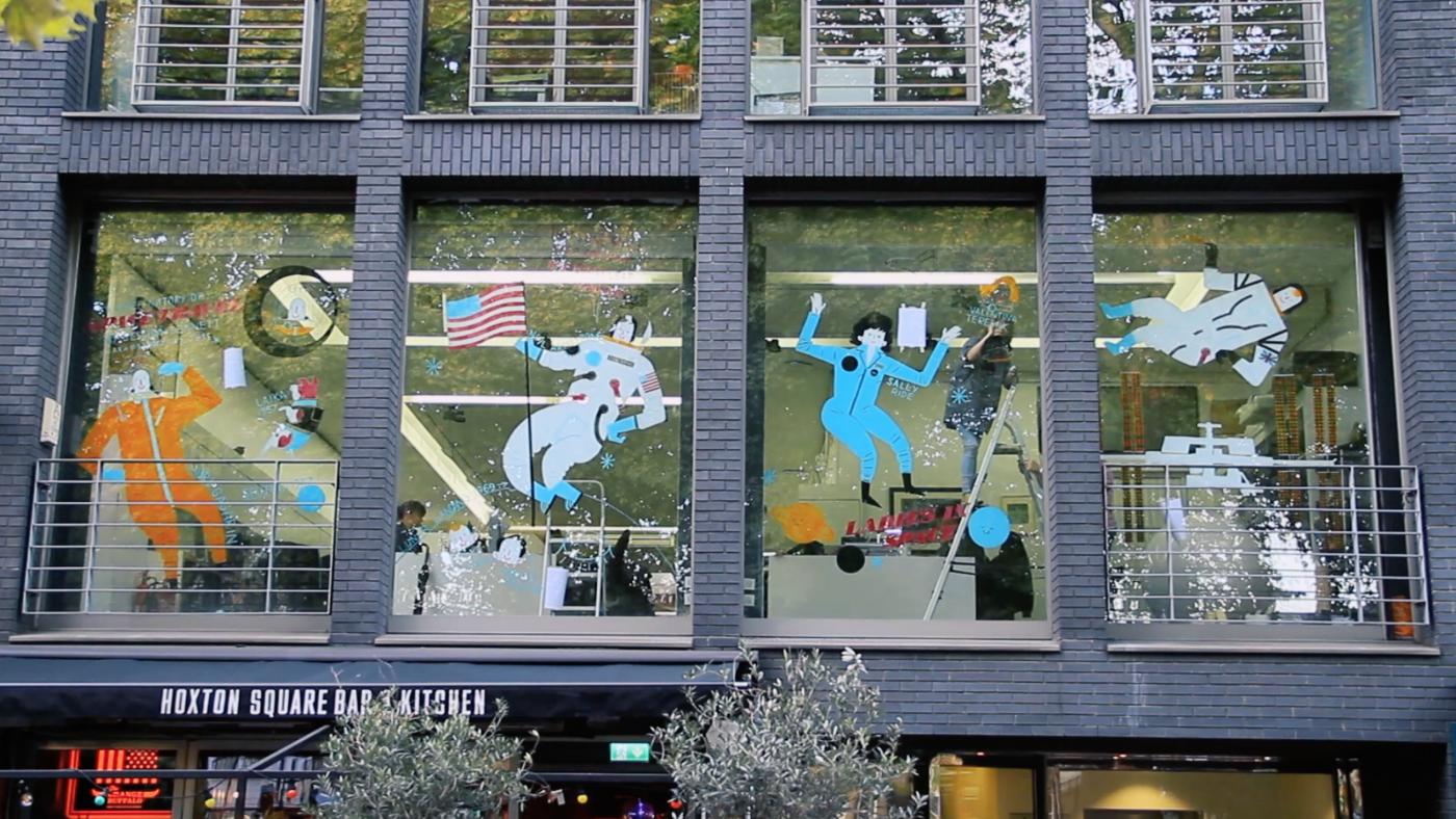 Hoxton Window Project: Jess Bennett