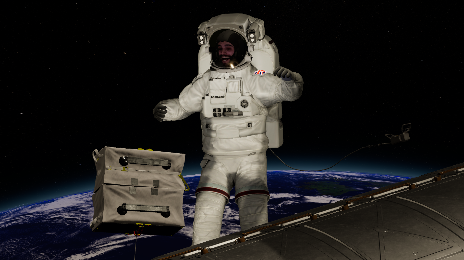 Samsung Augmented Reality Spacesuit