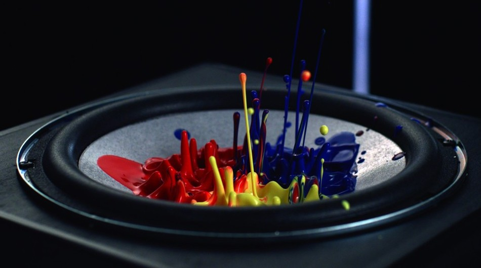 Sony Cymatics Sound So Loud You Can See It