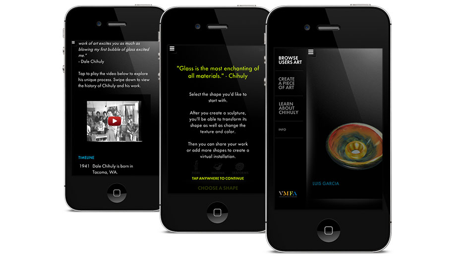 UNIT9 - The Chihuly App