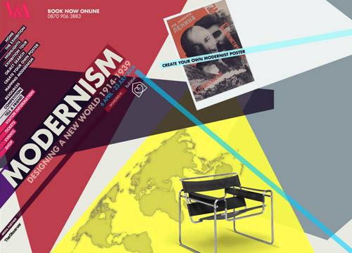 UNIT9 - V&A Museum: Modernism Exhibition