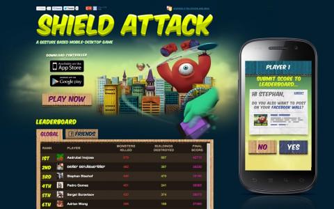 UNIT9 - Shield Attack