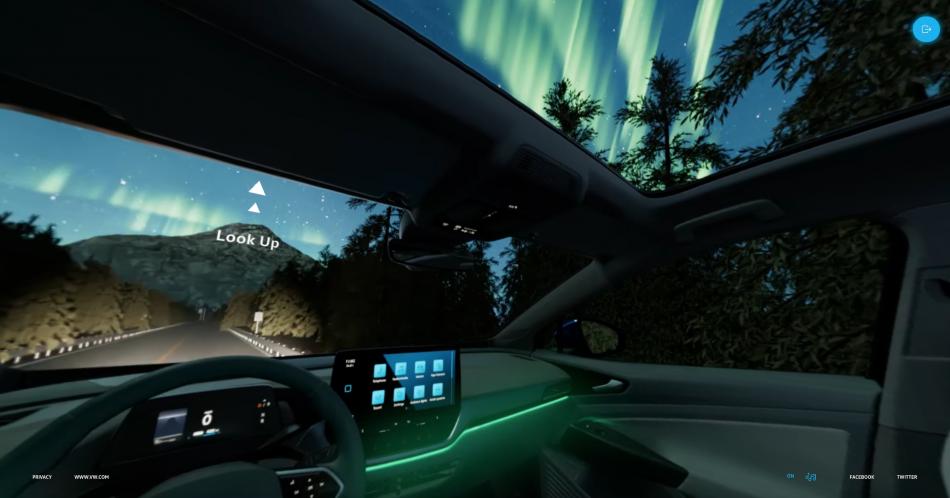 VW Virtual Test Drive
